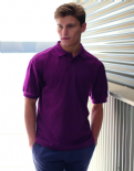 63204 Fruit of the Loom Heavyweight Polo Shirt